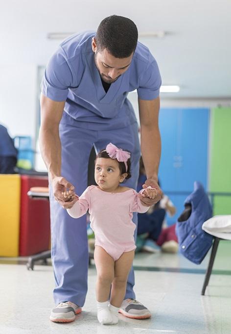 پرستار کودک در منزل کرج